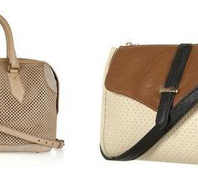 Splurges and Steals: Perforated Handbags
