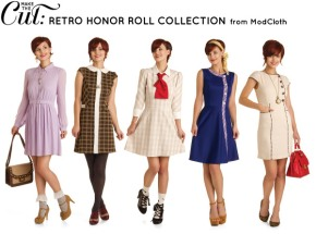 """Back to School with Modcloth's """"MTC: Retro Honor Roll""""Collection"""