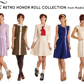 "Back to School with Modcloth's ""MTC: Retro Honor Roll"" Collection"