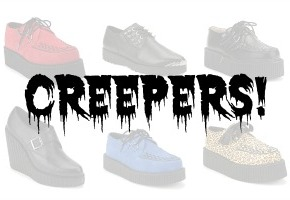 Shoesday: But I'm aCreeper