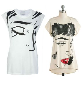 Dress for Less: Pop Art Tees