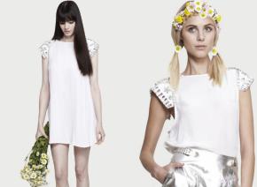 Wardrobe Fantasies: Shakuhachi's Crystallized Structured Shoulder Top andDress