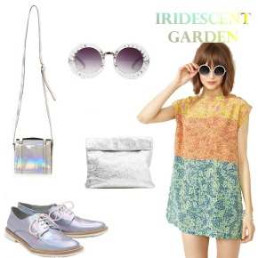 Weekend Look: Iridescent Garden