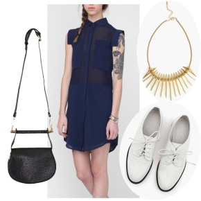 Weekend Look: In the Navy…
