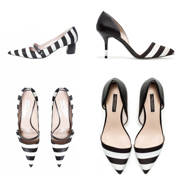 Striped-shoes