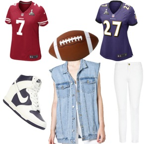 Weekend Look: Super Bowl XLVII Edition