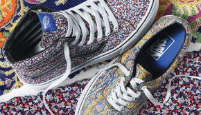 Free your Feet: Vans x Liberty Fall2014