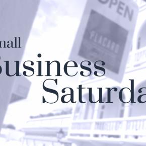 Small Business Saturday…