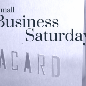 Small Business Saturday:PLACARD